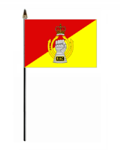 Royal Armoured Corps Hand Flag - Small.